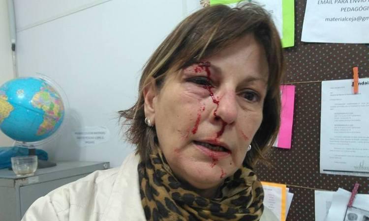 Professora é agredida por aluno de 15 anos em Santa Catarina