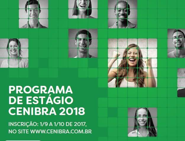 Cenibra abre inscrições para programa de estágio a partir de sexta-feira