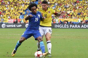 Brasil empata com a Colômbia e perde os 100% com Tite nas Eliminatórias
