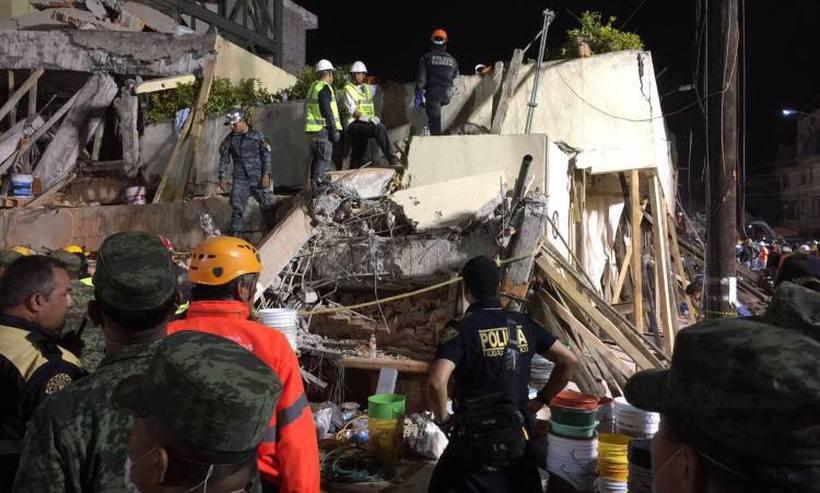 Escola desaba durante terremoto e ao menos 21 crianças morrem no México