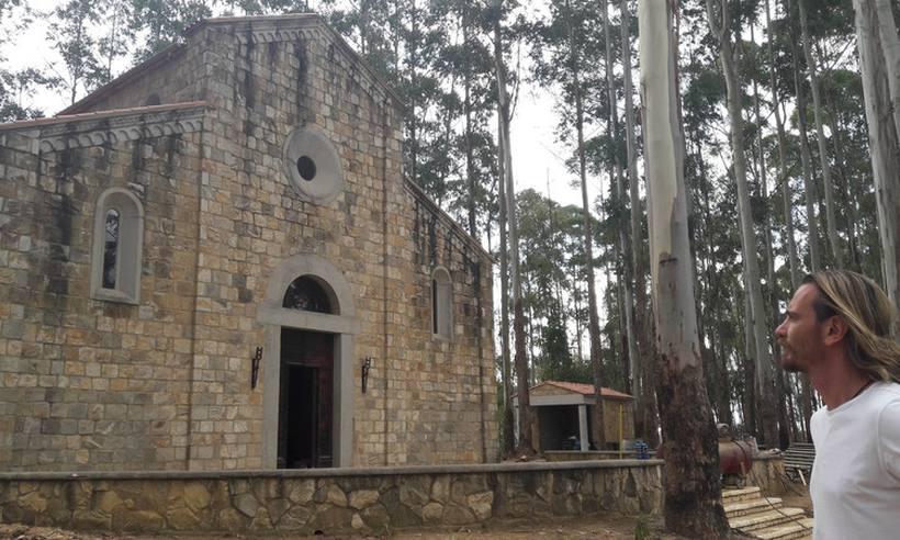 Réplica de abadia italiana da Idade Média será inaugurada hoje em Barbacena