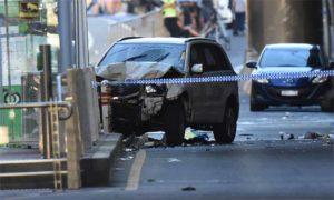Automóvel deixa 14 feridos em ação deliberada em Melbourne