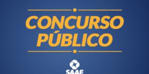 Saae anuncia concurso público
