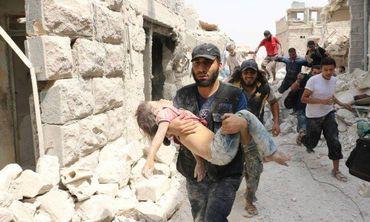 ONG revela que mais de 20 mil crianças já morreram na Síria