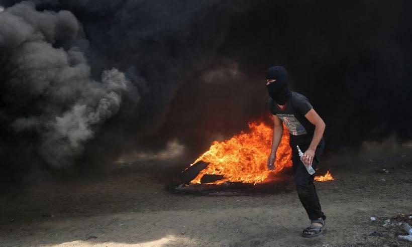 Doze palestinos morrem em confronto com soldados de Israel