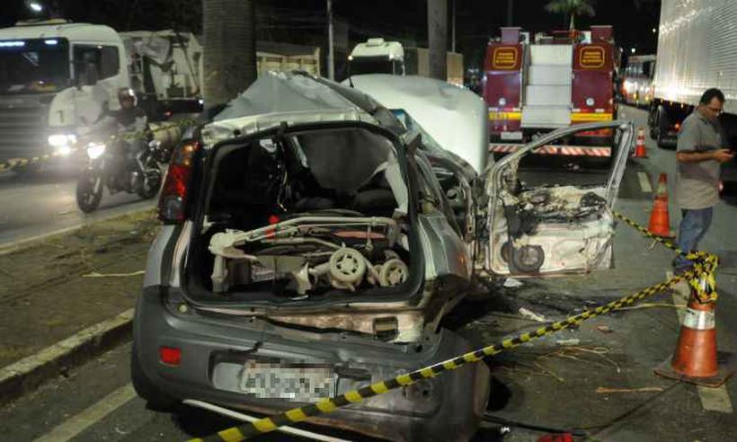 Motorista que provocou acidente em Contagem estava com CNH suspensa desde 2015