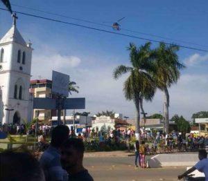 Assaltantes fazem reféns em banco de Papagaios, Região Central de Minas