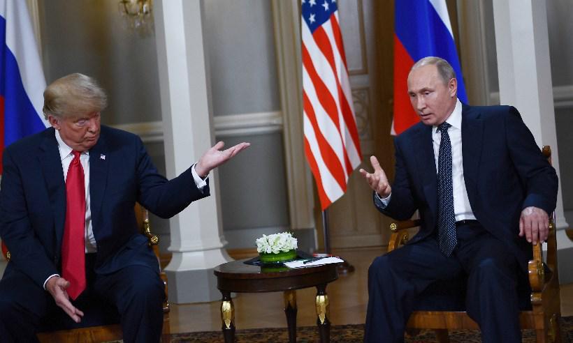 Trump e Putin se reúnem em esperada cúpula bilateral em Helsinque