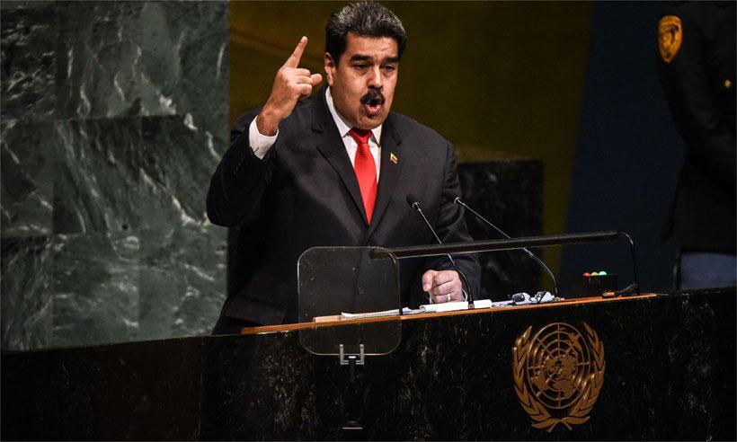 Em sinal de isolamento de Maduro, ONU aprova 1ª resolução contra Venezuela