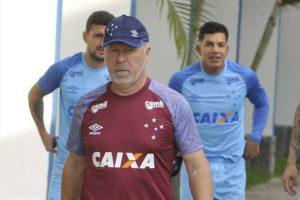 Cruzeiro treina, e Mano poderá escalar 'time ideal' novamente depois de quase um mês