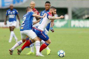 Com reservas, Cruzeiro empata sem gols com o Bahia na despedida da temporada