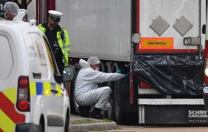 Os 39 mortos em caminhão encontrado no Reino Unido eram chineses
